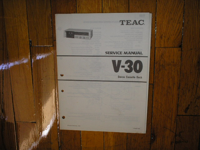 V-30 Cassette Deck Service Manual