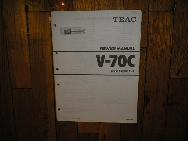 V-70C Cassette Deck Service Manual