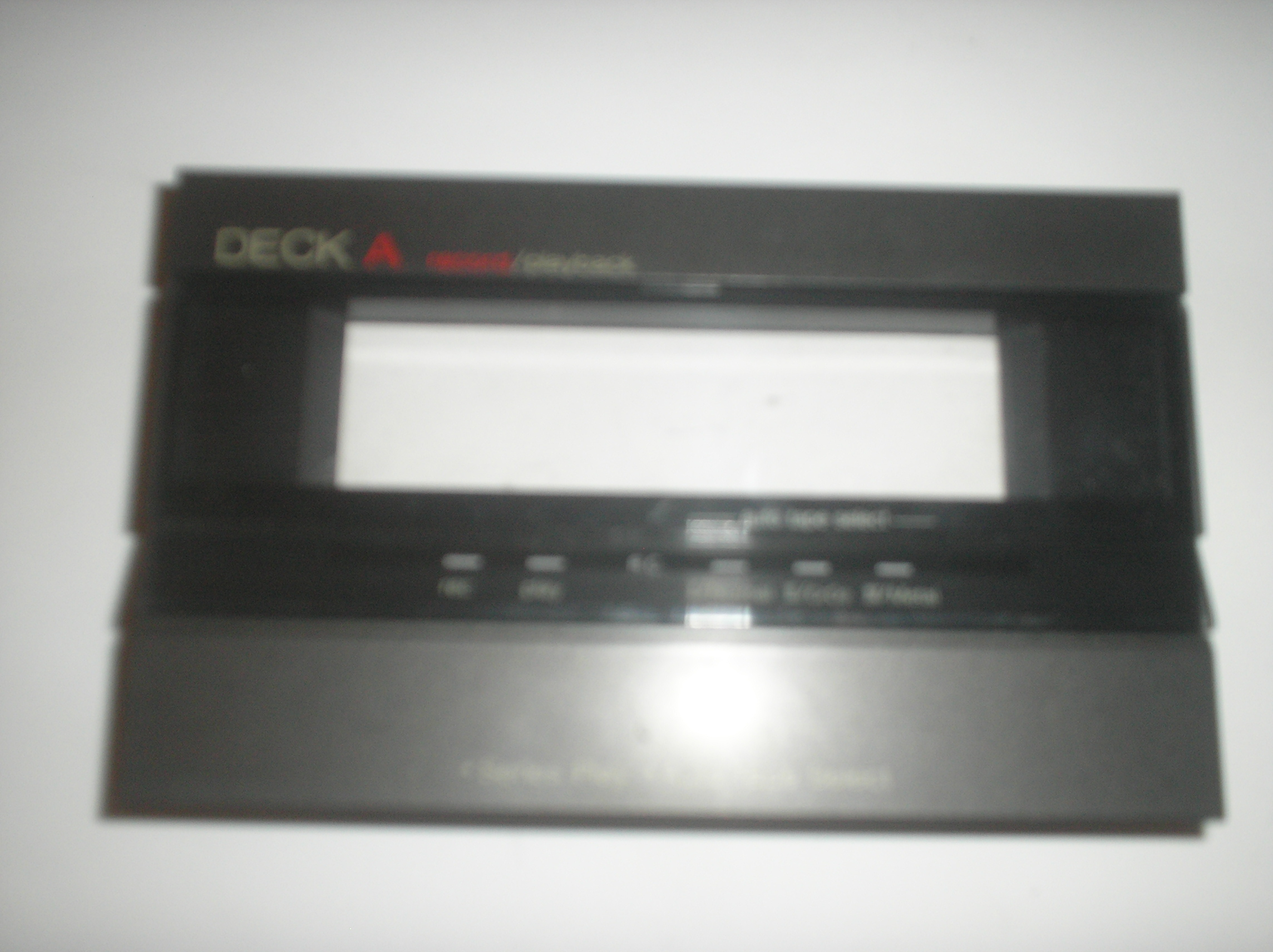 RS-T230 Cassette Deck A Door Assy.  item is used.  Part Number SGE1911