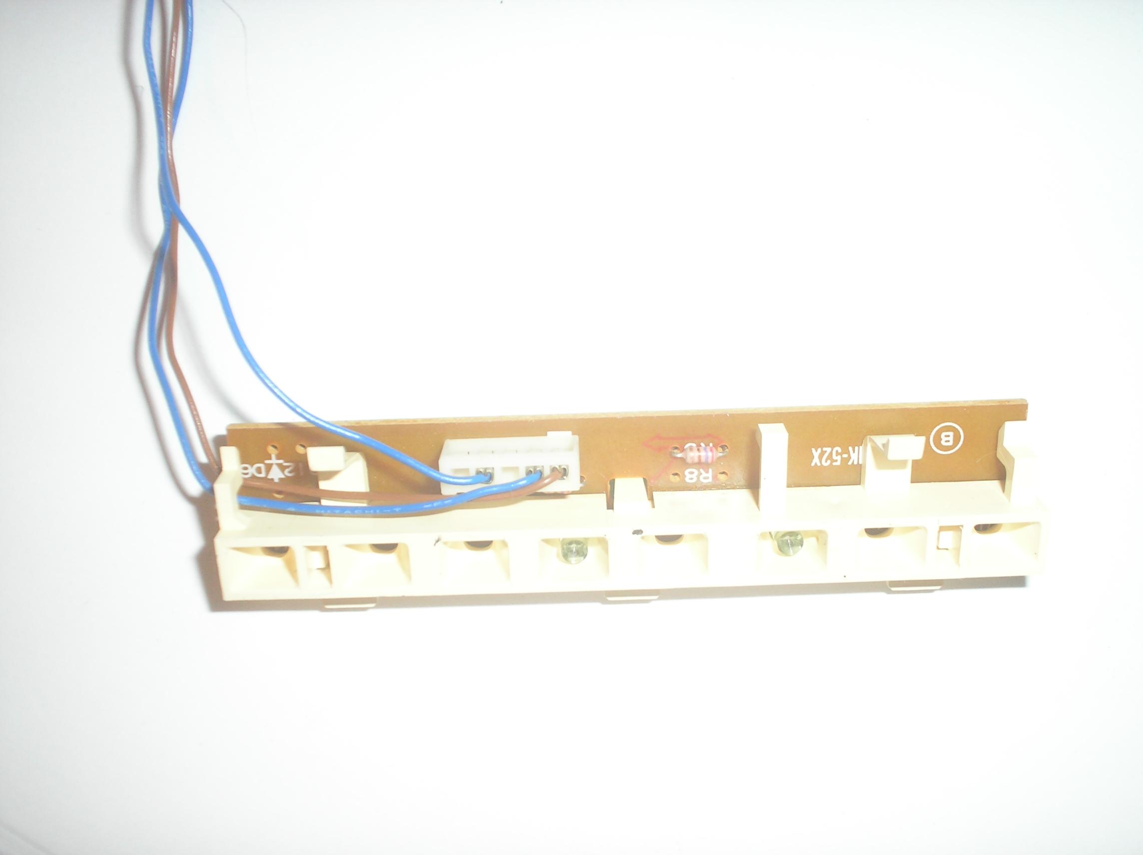 RS-T230 Cassette Deck B Tape Indicator Board Assy.  item is used. Deck B LED Block Assy  Technics part number SLNST230-KM1