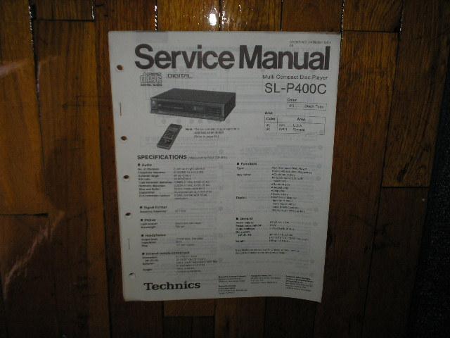 SL-P400C CD Player Service Manual