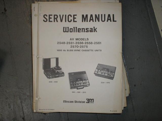 2448 2551 Service Manual