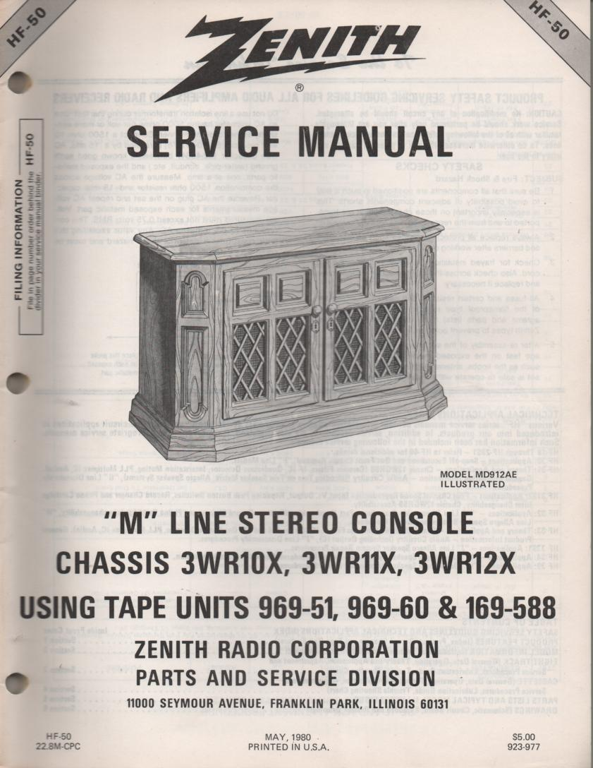 MD919P MR920AE M Line Console Service Manual HF50